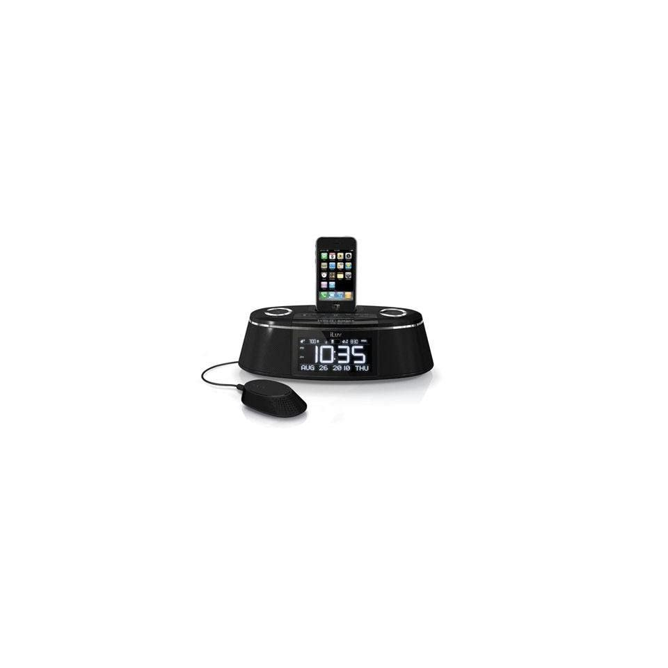 Iluv Imm178 Iphone/Ipod Dual Alarm Clock With Bed Shaker & Speaker (Personal Audio / Docking Stations)