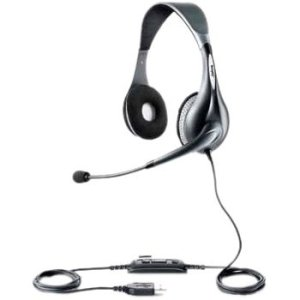 Jabra Uc Voice 150 Headset. Jabra Uc Voice 150 Duo Ms Lync Optimized Usb Wideband Ph-Hd. Stereo - Usb - Wired - 6 Hz-6.80 Khz - Over-The-Head - Binaural Snr - Semi-Open