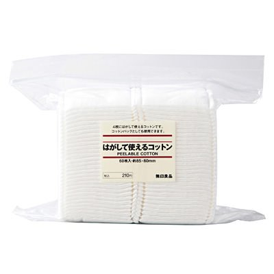 Muji Japan Create Cut Cotton V - 60pcs - Peel Type