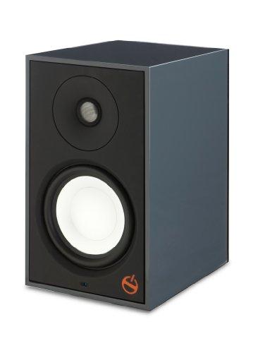 Paradigm A2 Fully Powered Bookshelf Speaker - Each (Gunmetal Gray Gloss)