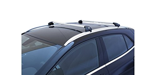 Auto-Dachtrger-Gepcktrger-Viva-2-integrierte-fr-Mercedes-Klasse-C-SW-ab-2015-aluminium
