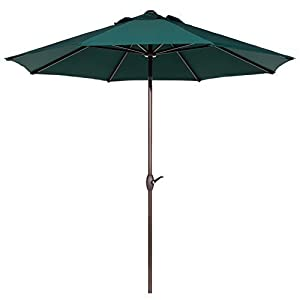Abba Patio 9 Ft Outdoor Table Aluminum Patio Umbrella