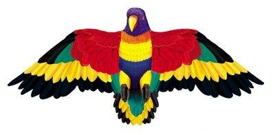 Wildlife Rainbow Parrot Bird Wing Flapper Kite-55