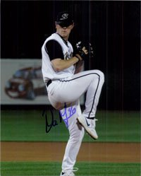 Signed Meyer, Dan (Sacramento River Cats) 8x10 autographed by Powers Collectibles