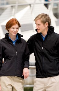 Henbury Mens Munro Softshell Jacket - X-Large - Black