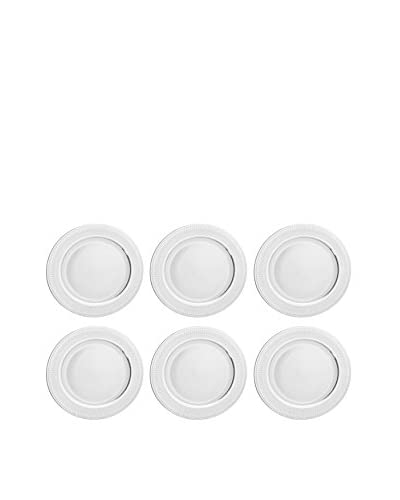 10 Strawberry Street Set of 6 Iriana Charger Plates