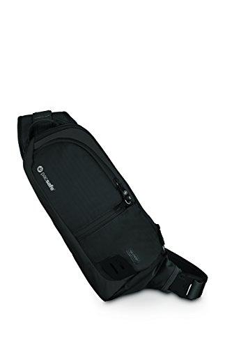 Pacsafe-Venturesafe-150-GII-Body-Bag-Umhngetasche-mit-Anti-Diebstahl-Details-schwarz