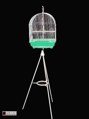 Cheap Dahak Green Kebira Bird Cage And Tripod Stand Combination (201C2Vg)