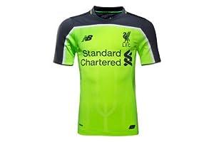 Balance Men's LFC 3RD Short Sleeve Football Jersey - Toxic Green, 2X-Large by New Balance