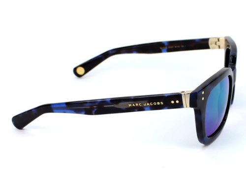 Marc Jacobs Marc Jacobs 437/S Sunglasses Havana Blue / Black Mirror