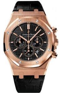 audemars-piguet-royal-oak-chronograph-rose-gold-black-dial
