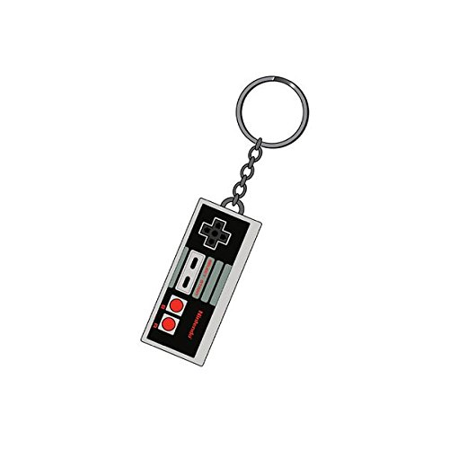 Nintendo Rubber Portachiavi Keychain NES Controller 7 cm Bioworld