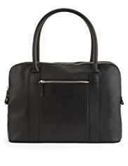 M&S Collection Leather Organiser Bag