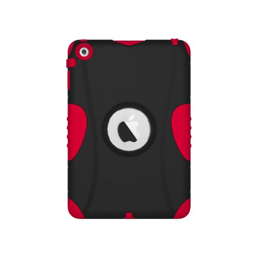 Trident Case Kraken Ams Series For Apple Ipad Mini, Red (Ams-Ipadmini-Red)
