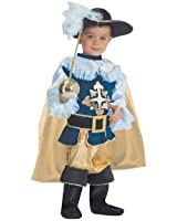 Deluxe Musketeer Toddler Costume Size 4T