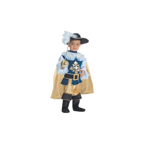 Deluxe Musketeer Child Halloween Costume Size 12-14 Large