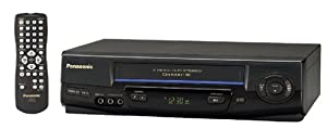 Panasonic PV-V4521 4-Head Hi-Fi Stereo VCR