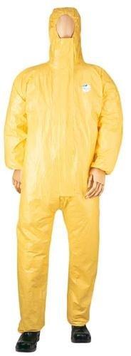Dupont Tyvek - Tuta da lavoro, protegge da rischi chimici, colore: Giallo M
