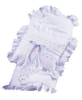 Little Angel Baby Blanket Set - Color: Lavender Ribbon front-966737