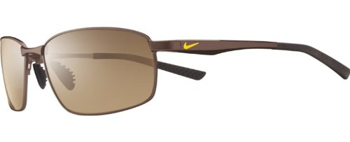 Nike Avid SQ Sunglasses (Walnut Frame, Brown Lens)