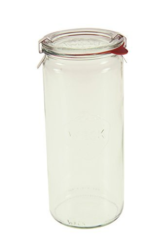 Weck Cylindrical Jar, 1 Liter - Set of 6