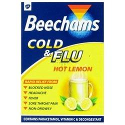 Beechams Cold & Flu Lemon x 5 [Personal Care]