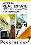 img - for Modern Real Estate Practice in New York for Salespersons, 11 E book / textbook / text book