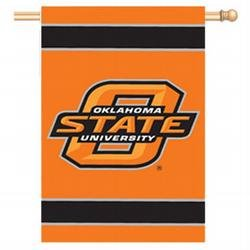 Buy NCAA Oklahoma State Cowboys Applique Banner Flag by Party Animal