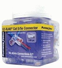 EZ-RJ45® Cat 6+ Connectors 202010J Jar of 100