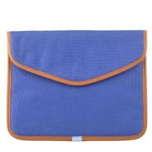 Neewer 2x Dark Blue Canvas Bag Sleeve Case for iPad / iPad 2