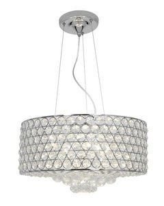Access Lighting Kristal Cable Pendant - 18.5W in. Chrome