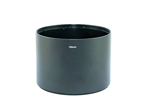 Fittest 105Mm Telephoto Metal Lens Hood With Filter Thread Mount (Lh-10578)