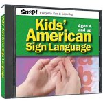 SNAP! Kids' American Sign Language (Jewel Case)