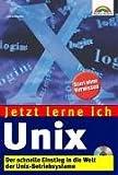 echange, troc Lutz Brockmann - Jetzt lerne ich Unix.