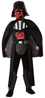 Kids Deluxe Light-Up Darth Vader Costume