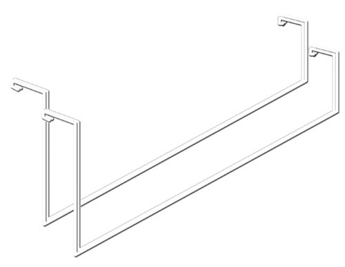 Images for HyLoft 419 Add On Storage Rack, Tool and Ladder Hangers, 2-Pack