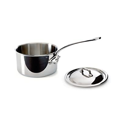 Mauviel M'Cook 5 Ply Stainless Steel Saucepans