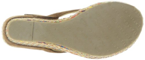 Volatile Women's Guilty Thong Sandal,Tan,7 B US