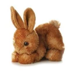[Best price] Stuffed Animals & Plush - Aurora Plush Bitty Rabbit Mini Flopsie Stuffed Animal - toys-games