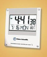 fisher scientific traceable clock manual