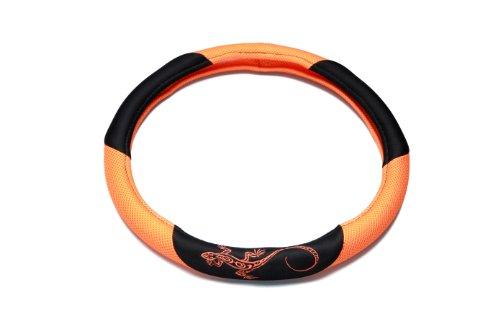 Unitec 75387 Couvre Volant Reptilia, Orange
