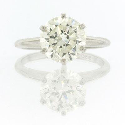 2.70ct Round Brilliant Cut Diamond Engagement