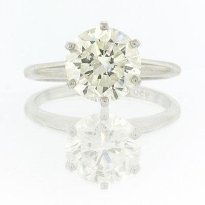 2.70ct Round Brilliant Cut Diamond Engagement