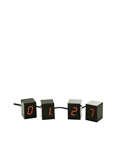 Areaware Numbers Clock with Red LED