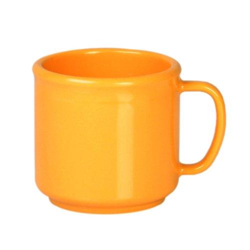 (Pack Of 12) 10 Oz. Melamine Mug Multi Color Break-Resistant *Nsf Approved* (Yellow)