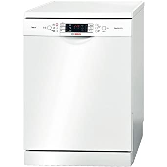 Bosch SMS65E22GB - 60cm Dishwasher, Aquastar, 6 programmes, VarioFlex Plus baskets, 13 pace settings