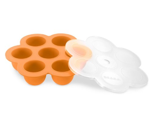 BEABA Multiportions Containers, Orange