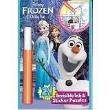 Frozen 2in1 Activities Chilly Fun (Pen Colors Vary) Book