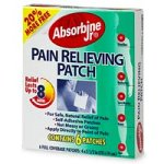 Absorbine Jr. Pain Relief Patch, 6 patches