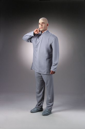 Dr Evil 1960 Costume Deluxe Austin Powers Movie Character Costume Halloween